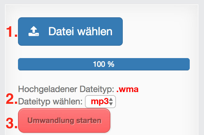 wma dateien in mp3 konvertieren